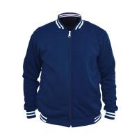 Jaket Baseball Varsity Polos - Biru Navy / Dongker