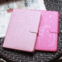 iPad Mini 4 Hello Kitty Leather Flip Smart Cover Casing Case Autolock