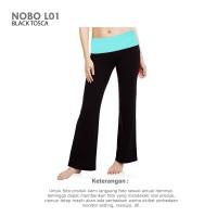 Jual Celana Yoga Wanita (Woman Yoga Flare Pants Black Tosca NOBO L01) Murah