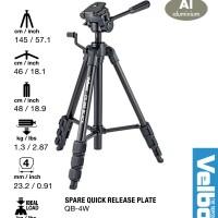 Velbon Tripod CX-888 - Compact Size + Strong Leg for Mirrorless & DSLR