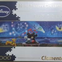 Jual Jigsaw Puzzle Clementoni Mickey Disney = 1000pcs (PANORAMA) - NEW Murah