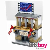 Lego Sembo City Block- Stock Exchange 138pcs Sembo SD6531 Brixboy