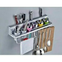 rak dinding rak piring kitchen set aluminium lemari dapur