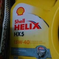 oli shell helix 5 HX 5,15W-40