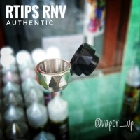 Rtips RNV Authentic Driptip Drip Tip Wide Bore Rda