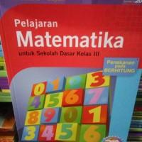 Pelajaran matematika untuk kelas 3A III 3 SD