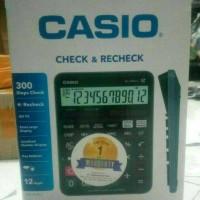 KALKULATOR CASIO DJ- 120 D ORIGINAL ADA GARANSI UKURAN JUMBO
