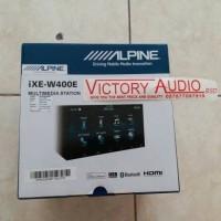 Head Unit Double Din Alpine IXE-W400E IXE W400E DoubleDin Alpine