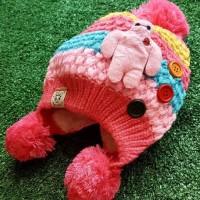 Topi Bayi Kupluk Lucu Cute Sheep