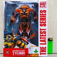 MAINAN ACTION FIGURE TRANSFORMERS BUMBLEBEE AOE VOYAGER CLASS