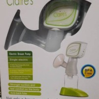 ELECTRIC Breast pump CLAIRE , CLAIRE'S pompa asi electrik