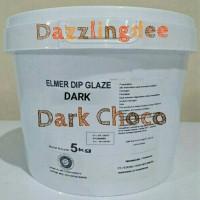 Jual Elmer Dip Glaze Dark 5 Kg / Dark Chocolate / Chocomaltine Murah
