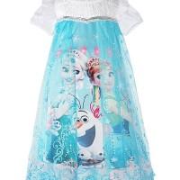 Jual Frozen Blue Dress Murah
