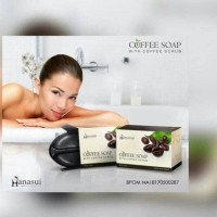 Jual Hanasui Coffee Soap Hanasui with Coffee Scrub with BPOM resmi Murah