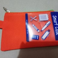 tempat pencil :$mart case orange.12,5x9cm