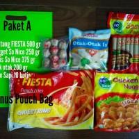 Jual Nugget dan Sosis So Nice + Kentang Fiesta (Paket A) Murah