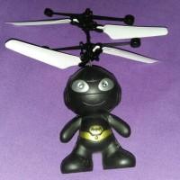 mainan terbang batman flying doll helikopter