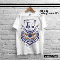 Jual kaos distro magic owl Murah