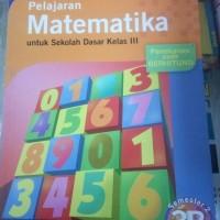 Pelajaran matematika 3B untuk kelas III 3 SD