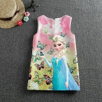 Jual ELSA DRESS PINK (IMPORT) Murah