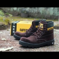 Jual BEST SELLER PROMOO MURAH !!! Caterpillar boot safety shoes pria dnk Murah