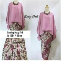 model baju muslim gamis terbaru dan modern KEBAYA BATWING