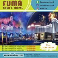 Tour Hongkong Macau 4H3M / Min 2 pax