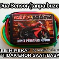 alarm motor sensor sentuh (2 pin) [Not Trust, IC Lock, Alsento, Genta]