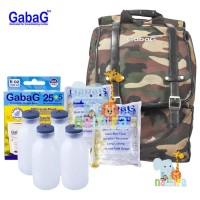 Jual Tas Cooler Bag Gabag Backpack Calmo Army 3 in 1 BT31 Murah