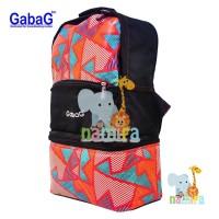 Jual Paket Tas Cooler Bag Gabag Backpack Black Radja 3 in 1 BT31 Murah
