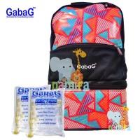 Jual Tas Cooler Bag Gabag Backpack Black Radja Murah