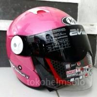 Helm KYT 2 Vision Pink Metallic