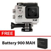 Jual BEST SELLER Onix XCOM Action Camera X2 4K Ultra HD WIFI 2,0