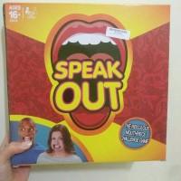 Jual Speak Out Game Mainan Mulut Lebar Mainan Tebak Kata Speakout Game Murah