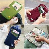 Jual Card id Holder pasport wallet organizer passport kartu kredit uang atm Murah