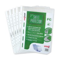 PP pocket F4 / sheet proctector F4 Inter X