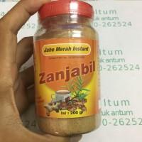Jahe Merah Bubuk - 200gr - Halal MUI