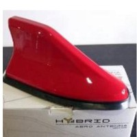 Antena Sirip Hiu Hybrid Red JS Racing / Shark Fin Hybrid