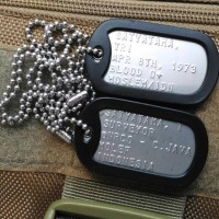 Jual Military ID Tag Kalung Dog Tag Murah