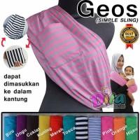 Jual GEOS MOTIF - Gendongan Kaos DITA / Gendongan Bayi / Baby Sling Murah