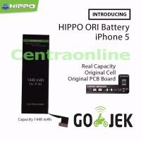 Jual Hippo baterai iphone 5 / 5G 1440 MAH Original Premium Cell Quality Murah