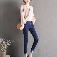 Jual Baju Fashion Import Korea Celana Jeans Skinny Wanita A31052 Murah