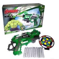 Jual New Mainan Anak Soft Bullet Blaster Senapan Pistol EVA Nerf Gun Hulk Murah