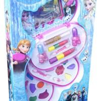 Jual New Mainan Anak Perempuan - Make Up Set Frozen 3 Susun Fashion Beauty Murah