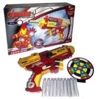 Jual New Mainan Anak Soft Bullet Blaster Senapan Pistol EVA Nerf Gun Iron Murah
