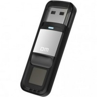 DM Flashdisk Enkripsi Fingerprint 32GB PD061 Black