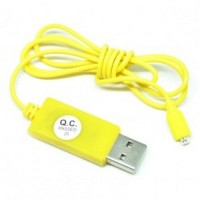 USB Cable to 2 Pin for Samsung Galaxy S5 Yellow