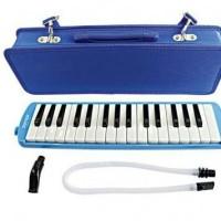 Pianika Joyko Hard Case - BIRU / Alat musik tiup tas kokoh PNC 20