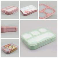[578] Kotak makan yooyee grid bento 4 sekat