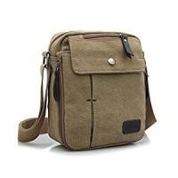 Jual tas pria canvas vintage / satchel bag / messenger shoulder bag casual Murah